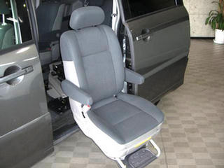 Dual Loader For Disabled Passenger Wheelchair Electirc Side Swivel Seat