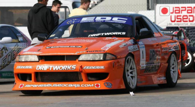 Japaneseusedcars.com Sponsored R32 Skyline Drift Car