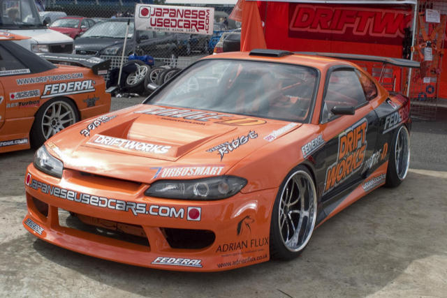 Nissan Silvia S15 Drift Car