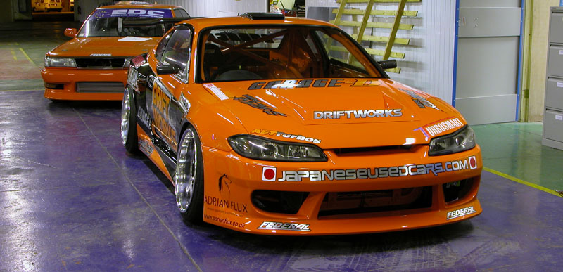 JDM Silvia S15 Drift car