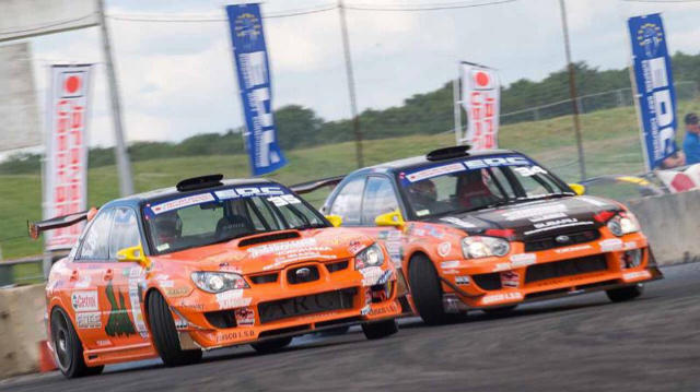 Team Orange Subaru Impreza cars